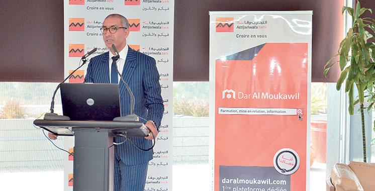 Marrakech : Inauguration d'un nouveau centre «Dar Al Moukawil» dédié à l'accompagnement des TPE