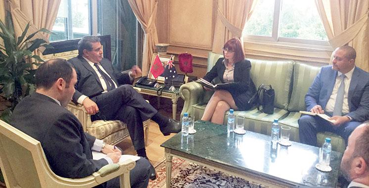 Le Plan Maroc Vert séduit les Australiens