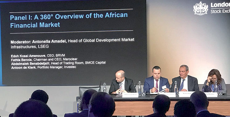BMCE Bank of Africa participe à la 3è édition du «Morocco Capital Market Days» à Londres