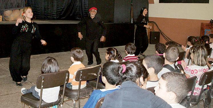 Festival du théâtre d'enfants à Taza : Plusieurs troupes y participent