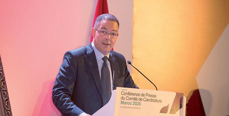 Mondial-2026 : La candidature du Maroc présentée  à Accra