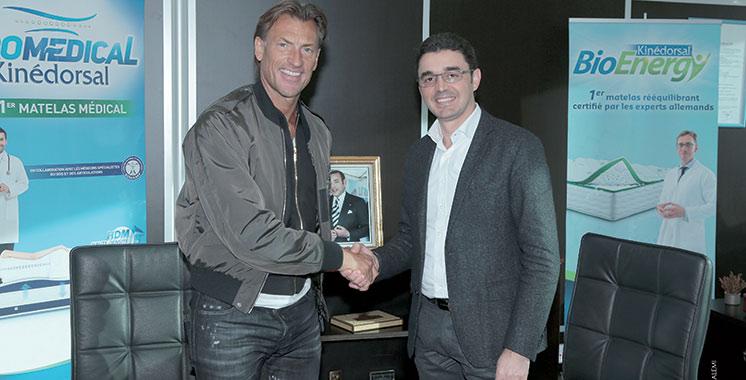 Partenariat : Dolidol signe avec Hervé Renard