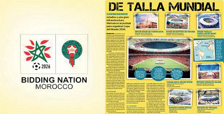 Un journal péruvien loue la qualité du dossier marocain : Le Maroc dispose d'une solide infrastructure pour abriter la Coupe du monde 2026
