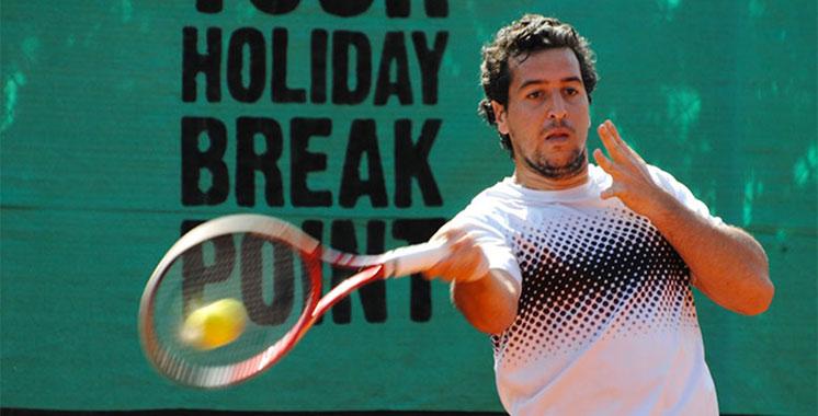 Grand Prix Hassan II de tennis : Lamine Ouahab crée la surprise et élimine l'Allemand Philipp Kohlschreiber