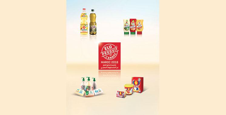 Elu produit de l'année : 10 produits Lesieur primés