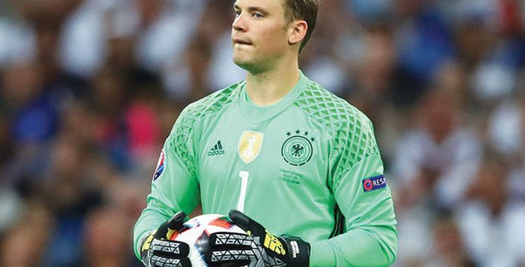 Allemagne : Manuel Neuer voit son rêve de participer  au Mondial 2018 se rapprocher