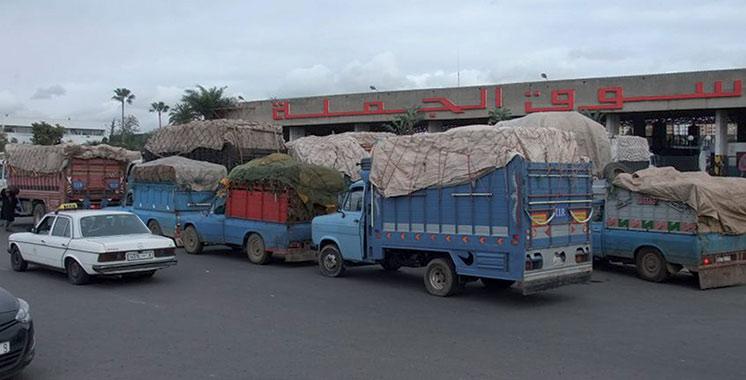 Casablanca : Le nouveau marché de gros des fruits  et légumes prêt en août
