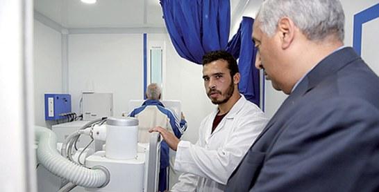 Prison Toulal 2 à Meknès : Dépistage de la tuberculose  et du cancer