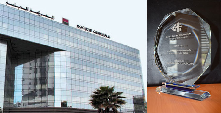 «Meilleur déploiement agile de la transformation digitale» : Société Générale Maroc rafle le prix