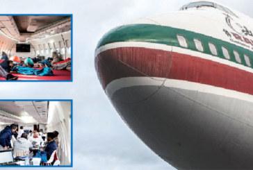 La RAM s'associe à Boeing et General  Electric et aménage un Boeing 747