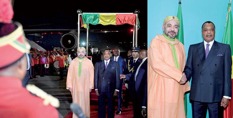 Fonds Bleu du Bassain du Congo : SM le Roi à Brazzaville pour le Sommet de la Commission Climat