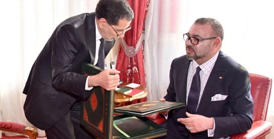 Rabat : Le Roi reçoit le chef du gouvernement et les ministres de l'Intérieur et de l'économie