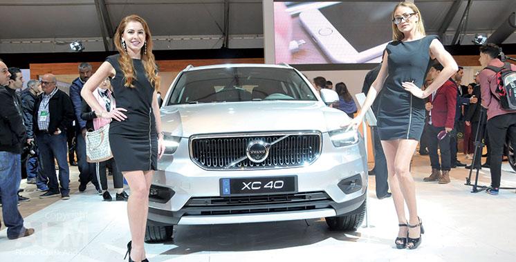 Grand-messe de l'automobile 2018 : Volvo expose sa nouvelle gamme de modèles