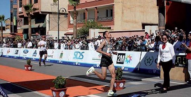 Semi-marathon de Berkane : Le Bahreïni El Hassan Abbasi frappe une troisième fois