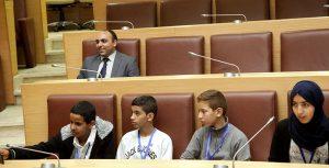 Session régionale à Laâyoune du Parlement de l'enfant