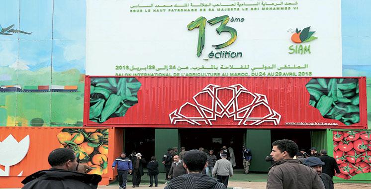 Vu au SIAM : Mega stand de  1.300 m2 pour OCP