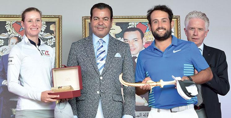 45è Trophée Hassan II et 24è Coupe SAR la Princesse Lalla Meryem de golf: Alexander Levy et Jenny Haglund remportent les titres