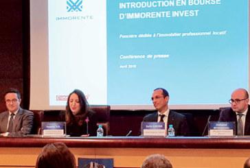 La première cotation prévue le 11 mai : Une nouvelle classe d'actifs introduite par Immorente  à la Bourse de Casablanca