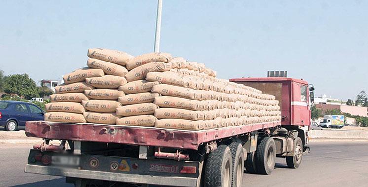 Ciment : Fléchissement de plus de 15%  des volumes vendus au mois de mars