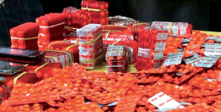 Tanger : Plus de 1.300 comprimés psychotropes saisis en 3 jours