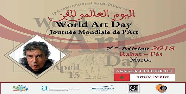La 2ème journée mondiale de l'art sera fêtée au Maroc : La célébration s'étend au niveau national d'année en année