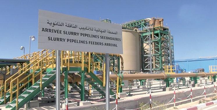 Slurry Pipeline, une ingénierie signée OCP : 3,7 milliards de dirhams de gains cumulés depuis 2014