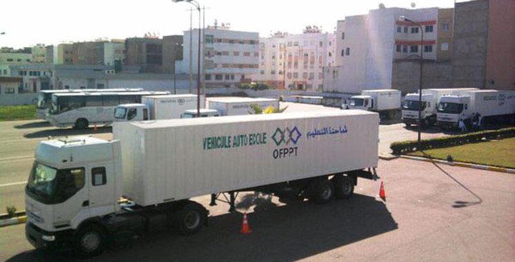 L'Académie de conduite de camions en sécurité voit le jour à Casablanca