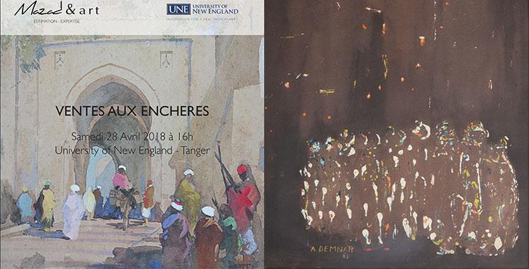 Mazad & Art rend hommage à Tanger