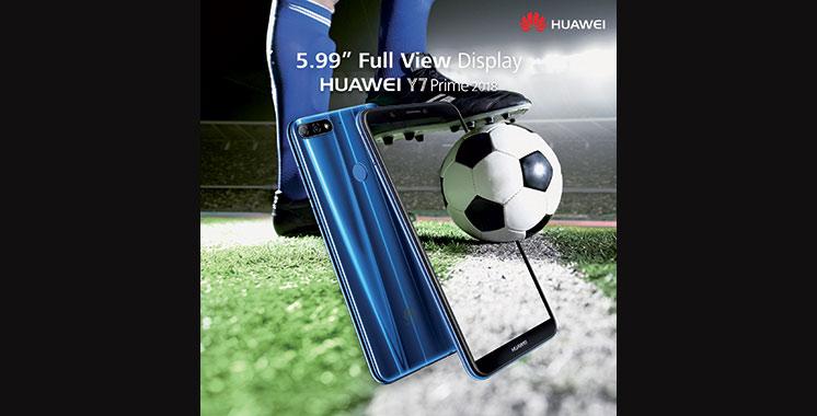 Huawei dévoile son nouveau Y7 Prime 2018
