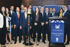 La cloche a sonné à la Bourse de Casablanca : Immorente Invest officiellement cotée