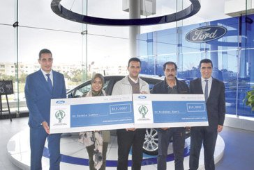 Ford Motor Company finance 2 structures marocaines : Elle a offert 25.000 dollars pour des projets environnementaux