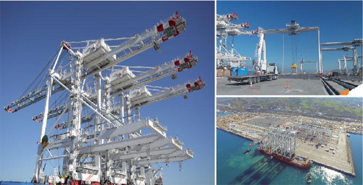 APM Terminals MedPort Tangier : Trois premiers portiques STS reçus