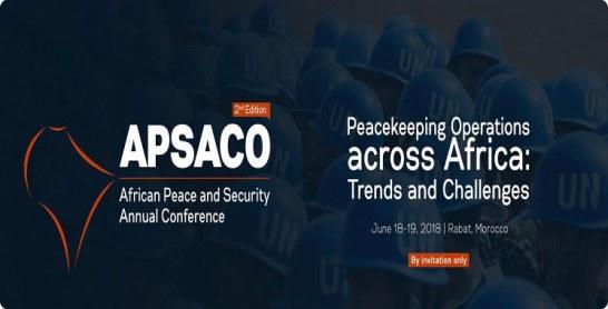 Rabat abrite la 2ème Conférence annuelle sur la paix et la sécurité en Afrique les 18 et 19 juin