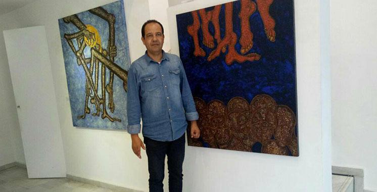 Abdelkader Melehi expose à Tanger