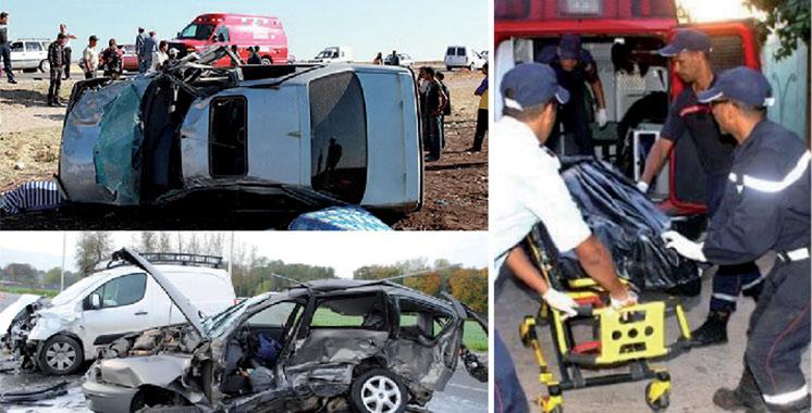 Accidents de la circulation: 11 morts et 1.766 blessés en périmètre urbain la semaine dernière