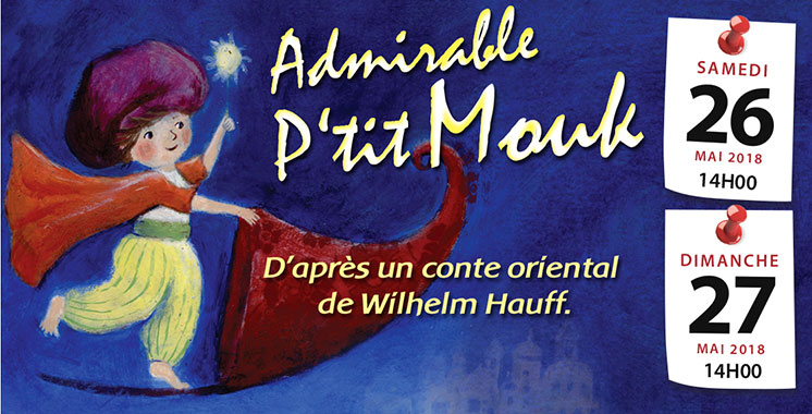 «Admirable P'tit Mouk» squatte les planches du Studio des arts vivants