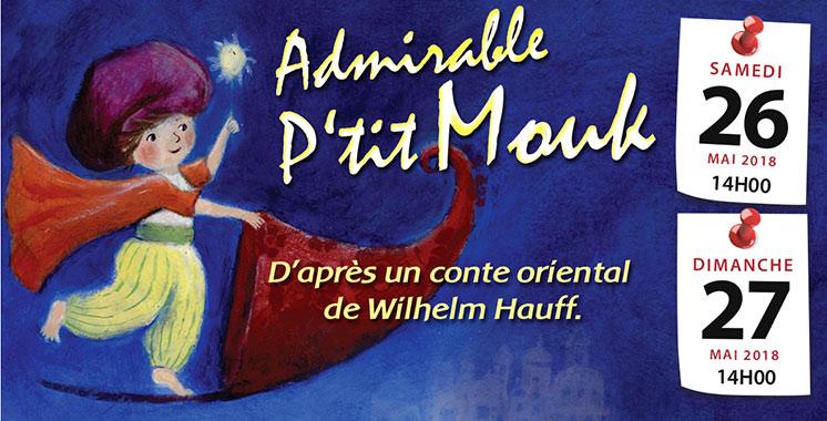 «Admirable P'tit Mouk» squatte les planches du Studio des arts vivants