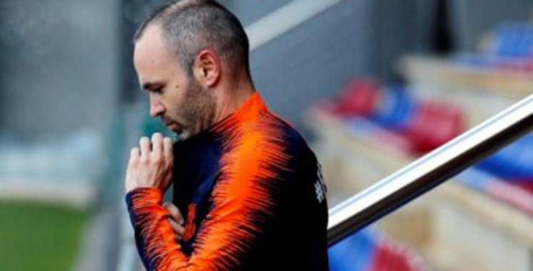 Mercato: Iniesta dans le viseur de quatre clubs australiens