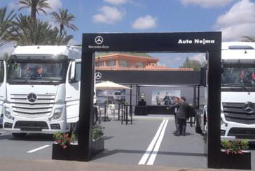 Auto Nejma : Lancement du nouvel Actros au Maroc