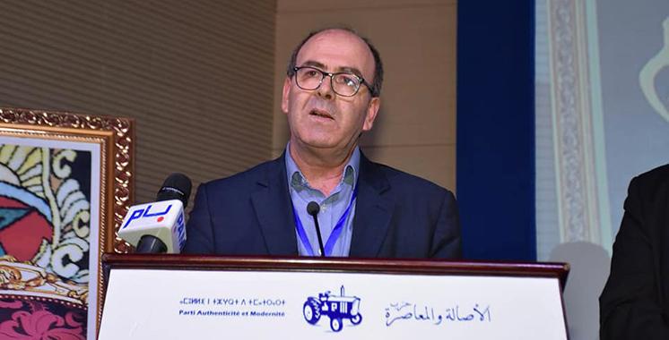 PAM : Benchamach nouveau secrétaire général