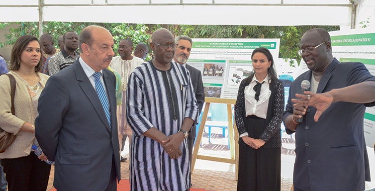 OCP contribue à l'analyse des sols et des eaux au Burkina Faso