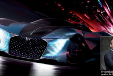DS X E-Tense : Le dream car de 2035