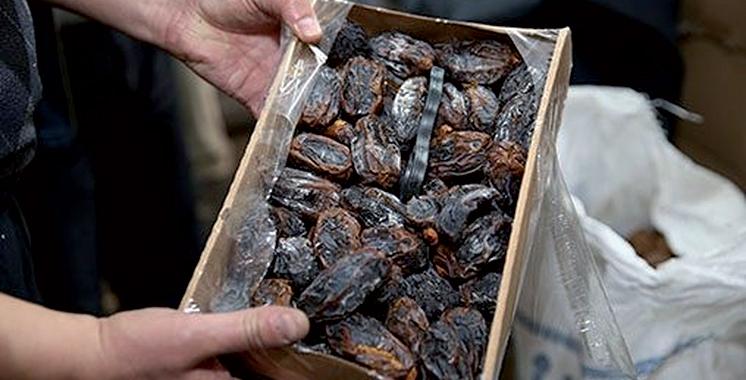 ONSSA : Saisie à Marrakech d'environ 14 tonnes de dattes impropres à la consommation