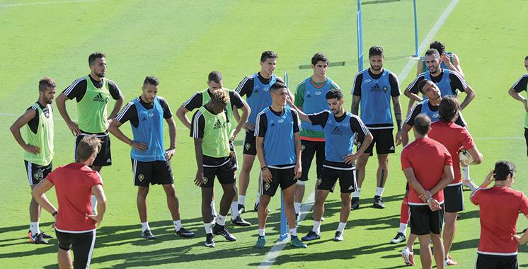 Matchs amicaux : Le Maroc peaufine sa préparation en Suisse