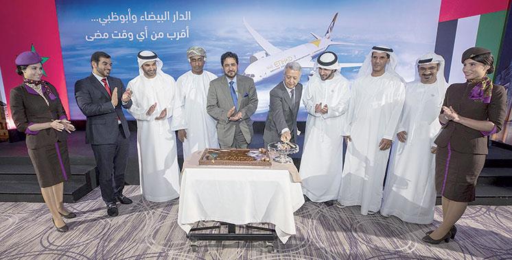 Etihad Airways : L'avion Dreamliner introduit sur la ligne Abu Dhabi-Casablanca