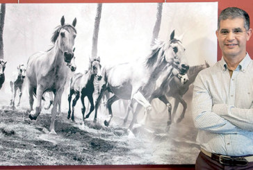 Abdelillah Doulfikar expose  ses œuvres à Madrid