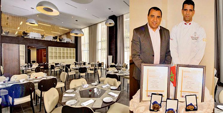 «Golden Chef International Festival 2018» : 3 médailles d'or pour le Chef exécutif  du Kenzi Sidi Maarouf Hotel