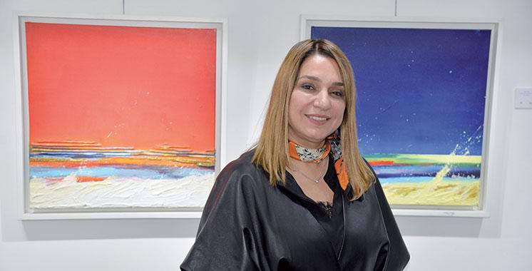 Exposition : Plongée dans l'océan de couleurs de Khadija Lailani Lahlou