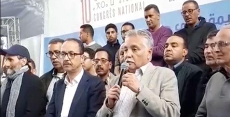 Mohamed  Nabil Benabdellah réélu à la tête du PPS