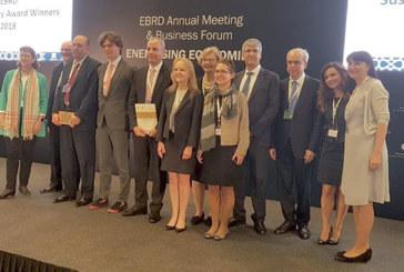 EBRD Sustainability Awards 2018 : Le projet d'irrigation de la plaine de Saiss primé par la BERD